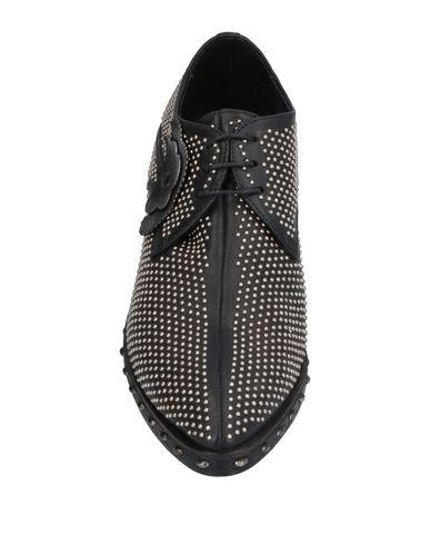 Фото 2 - Обувь на шнурках от INK черного цвета
