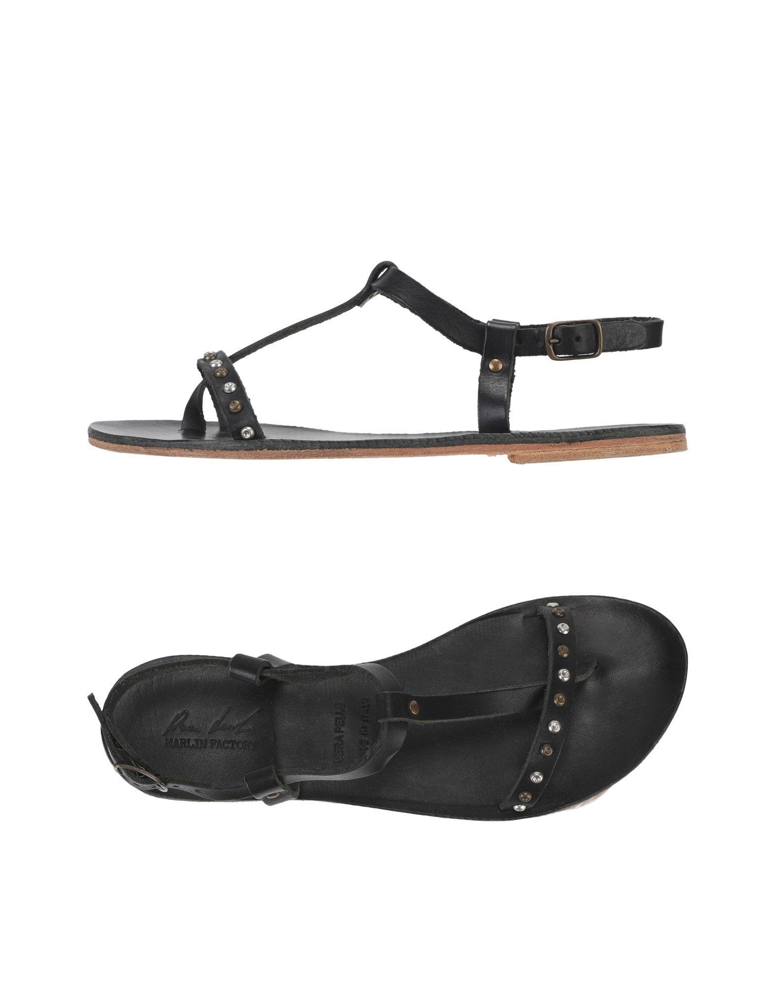 MARLIN FACTORY Toe strap sandals
