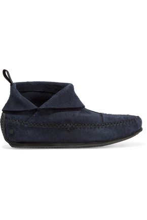 Brixton suede moccasin boots