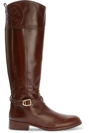 TORY BURCH Marelene leather knee boots