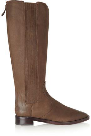 TORY BURCH Newton nubuck knee boots