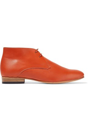 DIEPPA RESTREPO Lupe leather ankle boots
