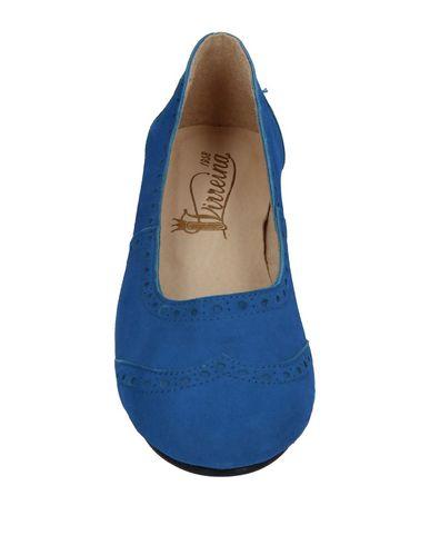 Фото 2 - Женские балетки VIRREINA синего цвета
