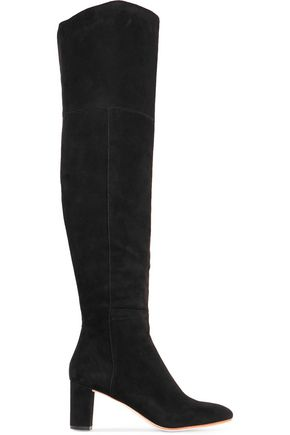 LOEFFLER RANDALL Suede over-the-knee boots