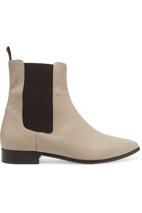 Elena leather ankle boots