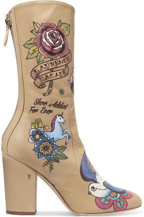 LAURENCE DACADE Printed leather boots
