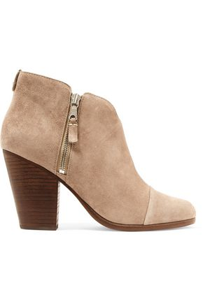RAG & BONE Margot suede boots