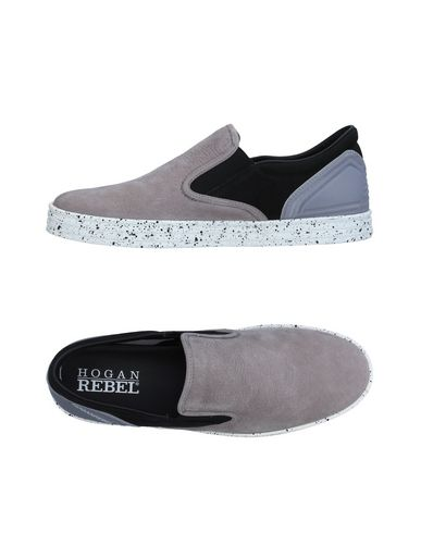 Фото - Низкие кеды и кроссовки от HOGAN REBEL серого цвета