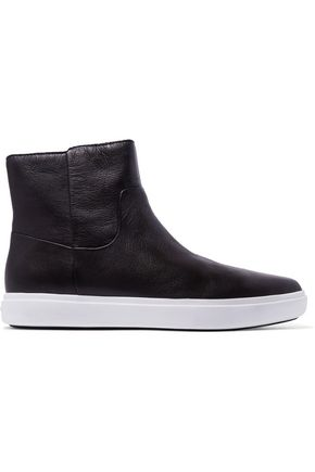 DKNY Tyler leather slip-on sneakers