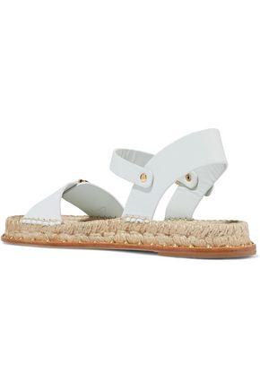 PALOMA BARCELÓ Rodie stud-embellished leather espadrille sandals