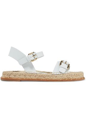 PALOMA BARCELÓ Rodie stud-embellished leather espadrille sandals