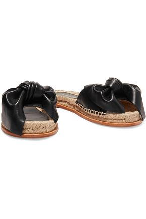 PALOMA BARCELÓ Xena bow-embellished leather sandals