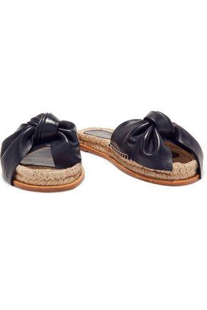 PALOMA BARCELÓ Xena bow-embellished leather sandals