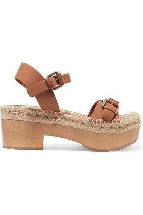 PALOMITAS by PALOMA BARCELÓ Felipa textured-leather sandals