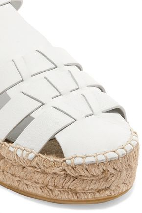 PALOMA BARCELÓ Irma leather espadrille sandals