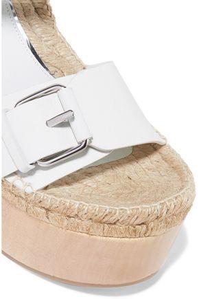 PALOMA BARCELÓ Lucia buckled leather platform sandals