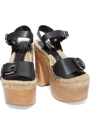PALOMA BARCELÓ Lucia leather platform sandals