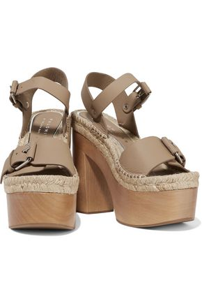 PALOMA BARCELÓ Lucia buckled leather platform sandals