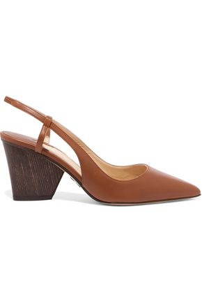 PAUL ANDREW Grete leather slingback sandals