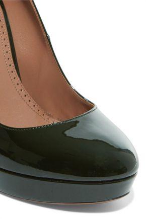ALAÏA Patent leather pumps