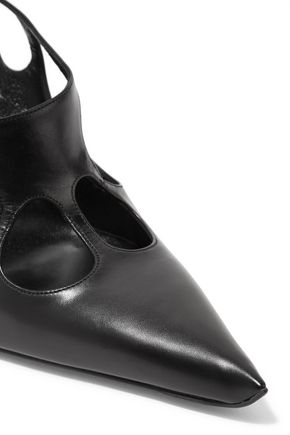 ROGER VIVIER Cutout leather pumps