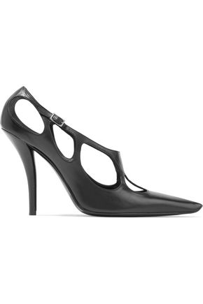 ROGER VIVIER Cutout leather pumps