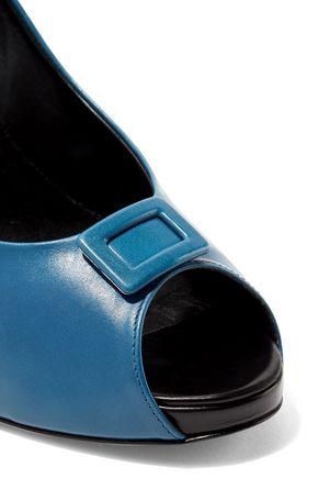 ROGER VIVIER Buckle-embellished leather pumps