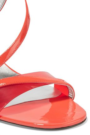 ROGER VIVIER Patent-leather and Perspex sandals