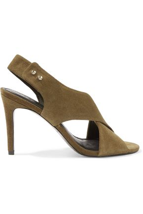 SANDRO Paris Suede sandals