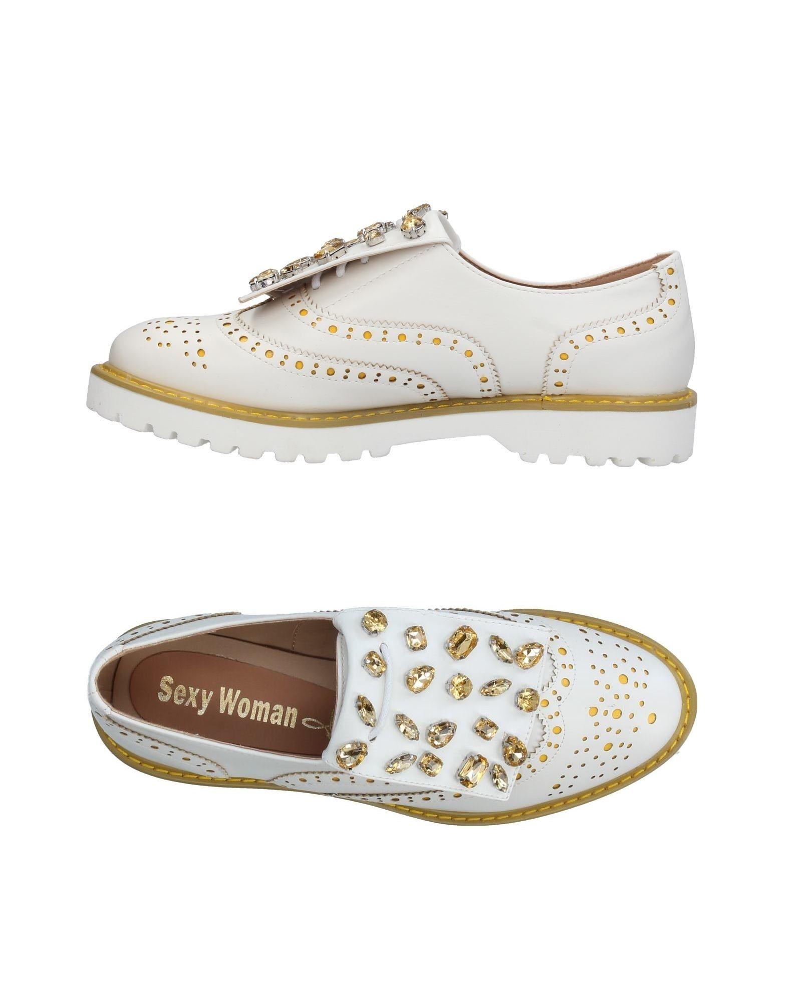 SEXY WOMAN Обувь на шнурках цены онлайн