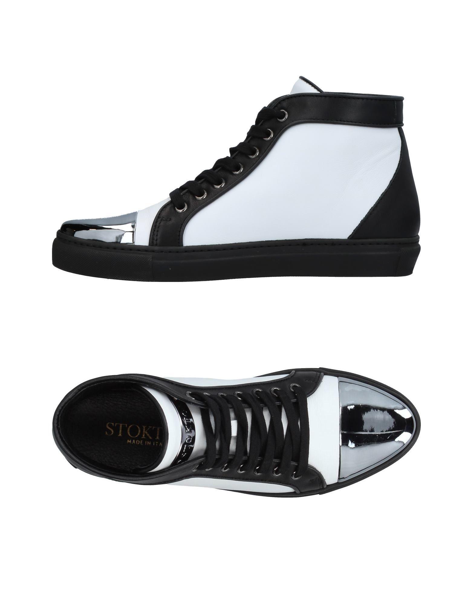 STOKTON Высокие кеды и кроссовки pierre hardy высокие кеды и кроссовки
