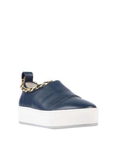 Фото 2 - Низкие кеды и кроссовки от STOKTON темно-синего цвета