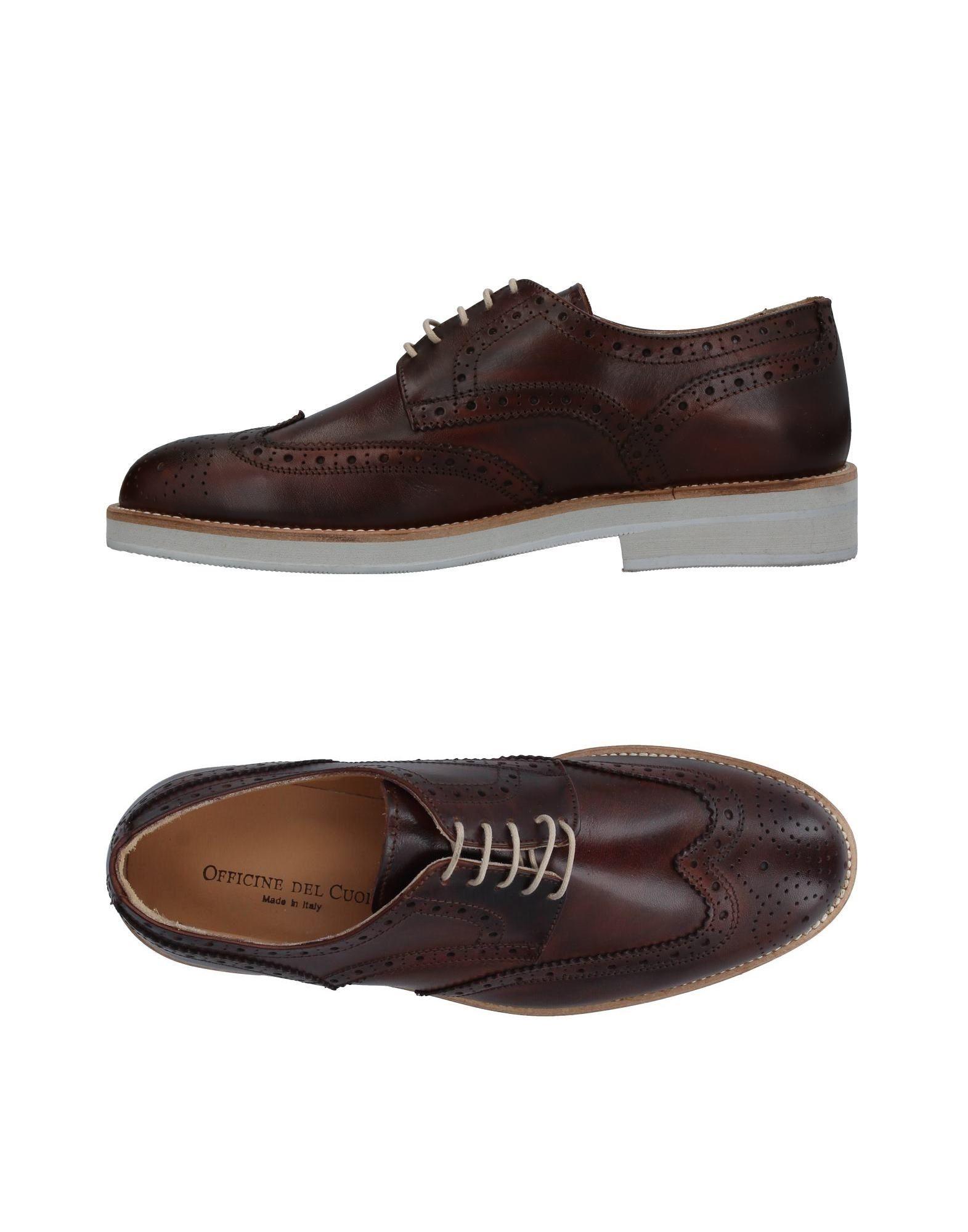 OFFICINE DEL CUOIO Обувь на шнурках l artigiano del cuoio вьетнамки