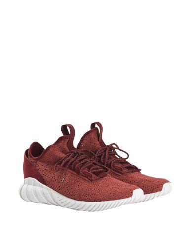 Фото 2 - Низкие кеды и кроссовки кирпично-красного цвета