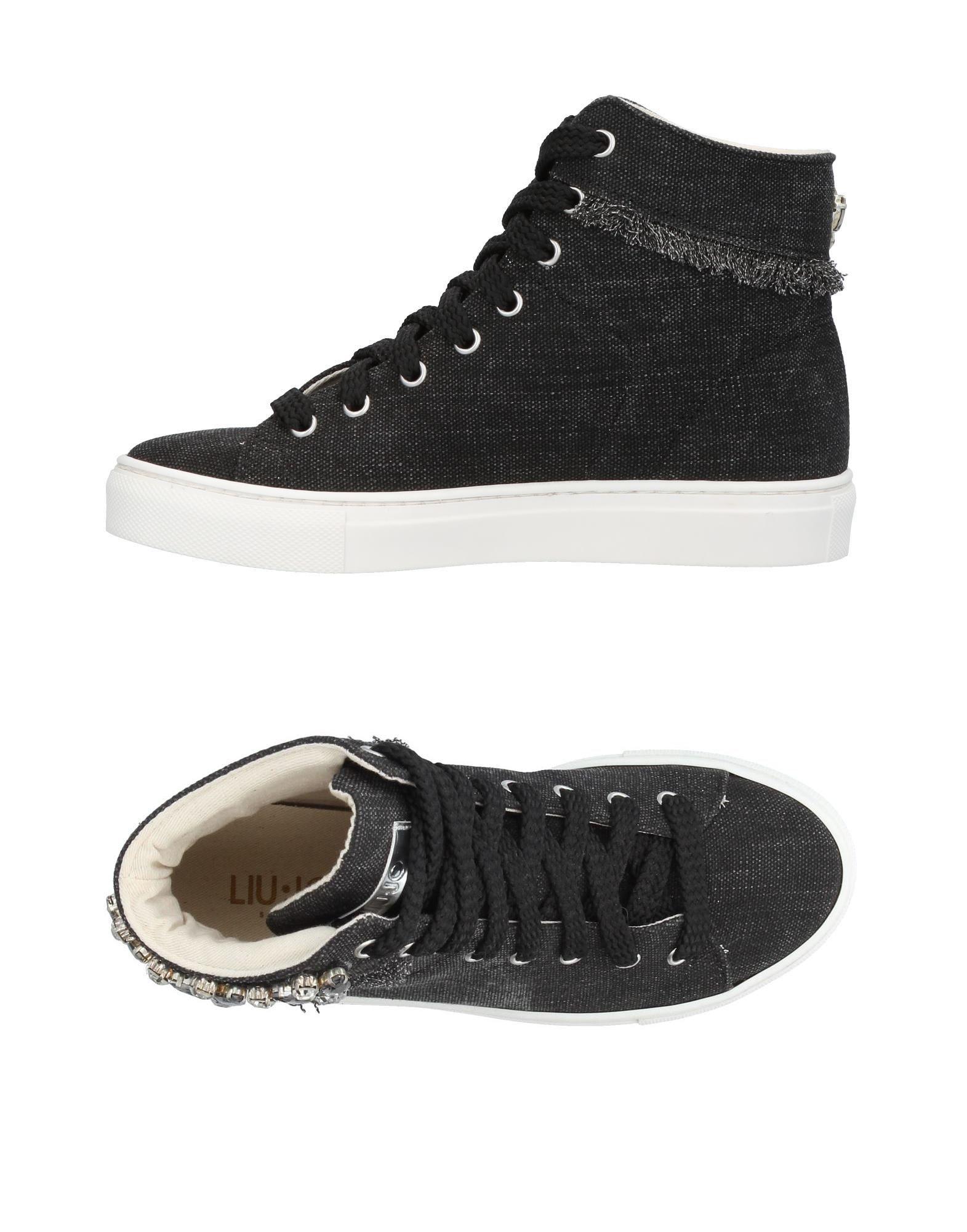 LIU •JO SHOES Высокие кеды и кроссовки кеды кроссовки высокие женские dc shoes rebound high desert
