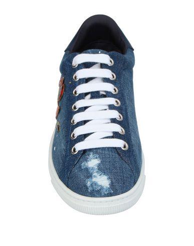 Фото 2 - Низкие кеды и кроссовки синего цвета