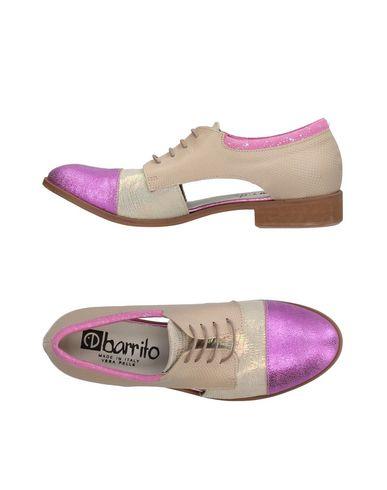 Фото - Обувь на шнурках от EBARRITO бежевого цвета
