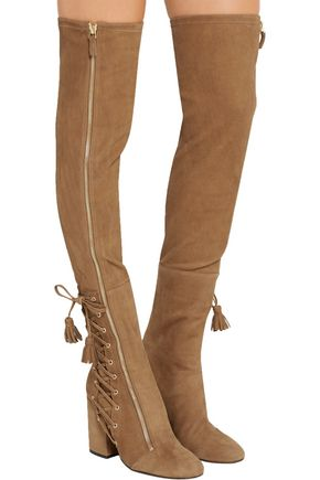 Laurence Dacade Suede Over-The-Knee Boots comfortable cheap price outlet online 3KBcQqm6eH