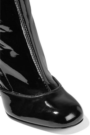 LAURENCE DACADE Madison patent-leather over-the-knee boots