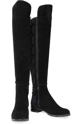 MICHAEL MICHAEL KORS Skye leather and neoprene boots