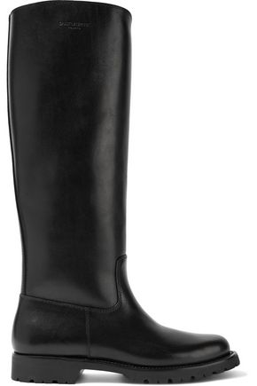 SAINT LAURENT Rubber rain boots