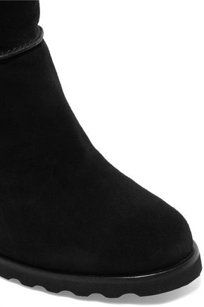 MARC BY MARC JACOBS Harper suede wedge snow boots