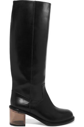 MM6 MAISON MARGIELA Leather knee boots