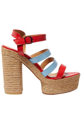 CASTAÑER Adalia leather platform sandals