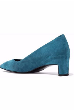 ROBERT CLERGERIE Suede pumps