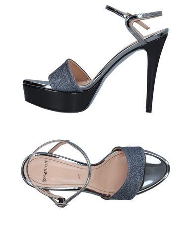 Фото - Женские сандали TIPE E TACCHI свинцово-серого цвета