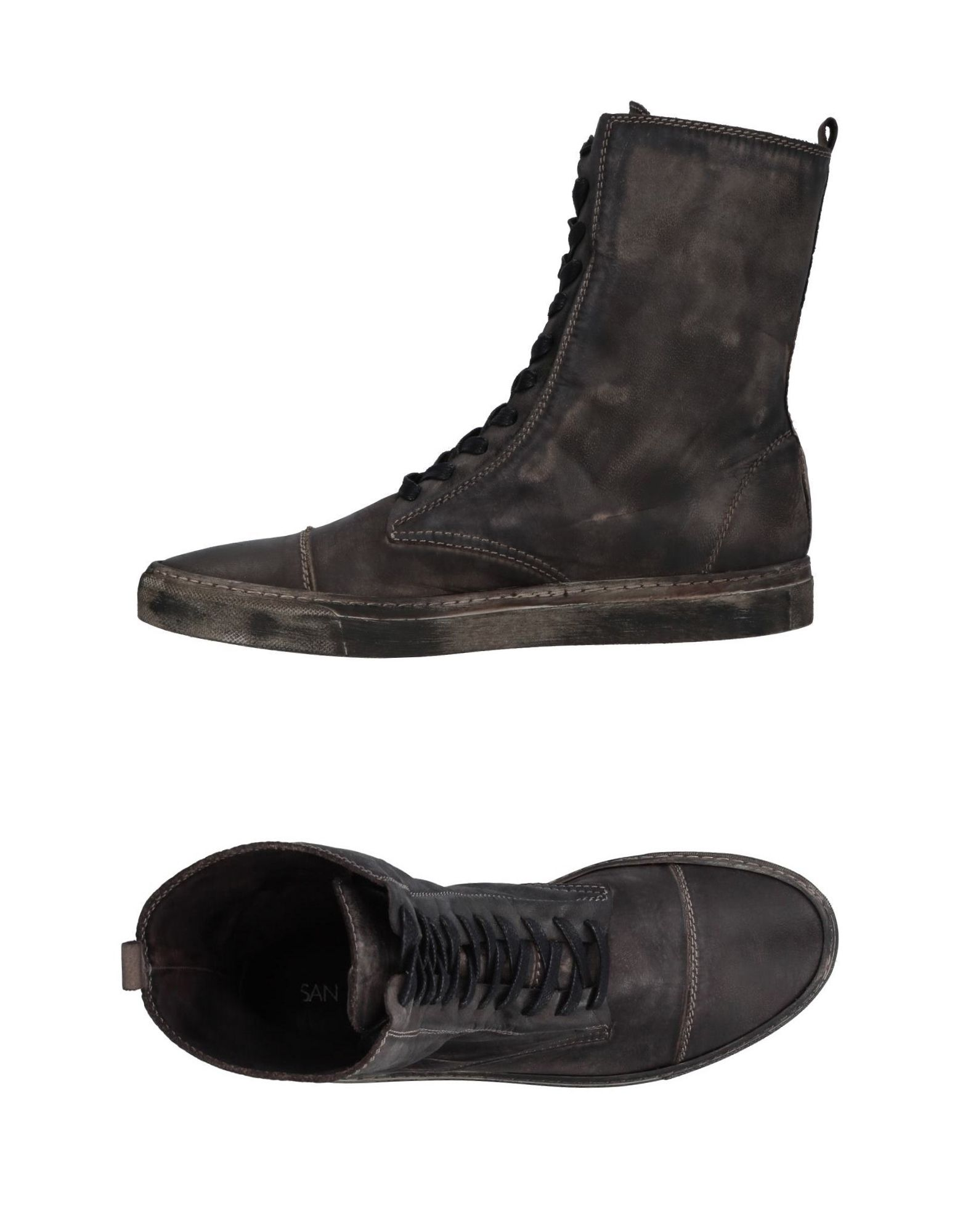 SAN CRISPINO Высокие кеды и кроссовки san crispino обувь на шнурках
