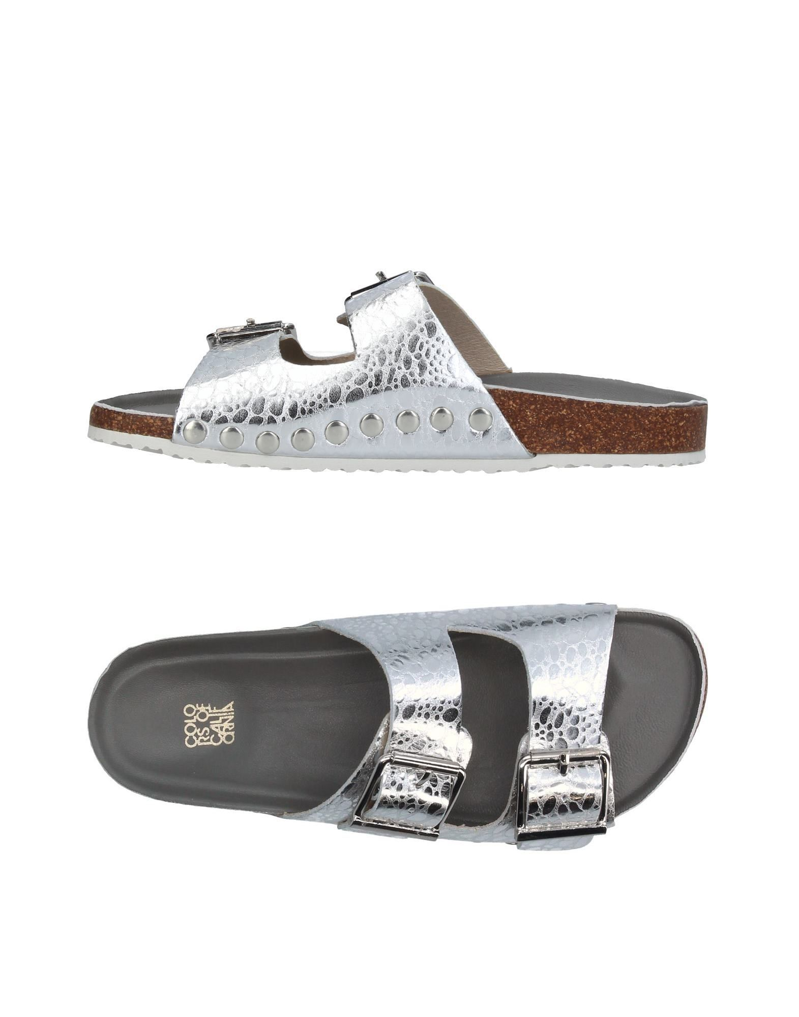 COLORS OF CALIFORNIA Sandals in Silver