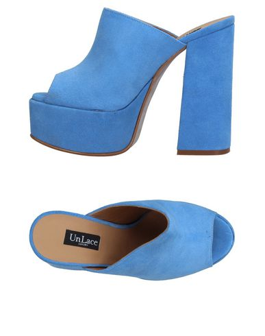 Фото - Женские сандали UNLACE небесно-голубого цвета