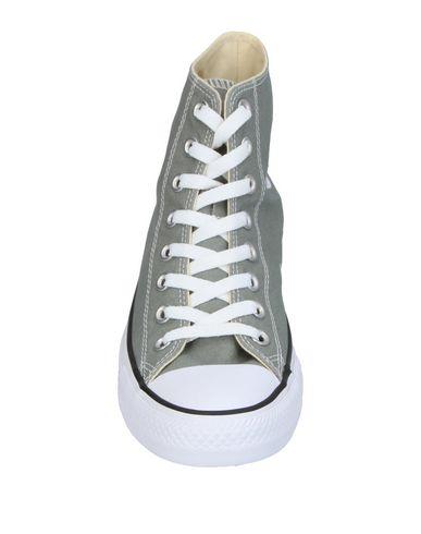 Фото 2 - Высокие кеды и кроссовки серого цвета